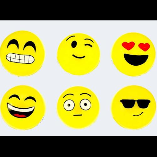 Hoppebold med smiley