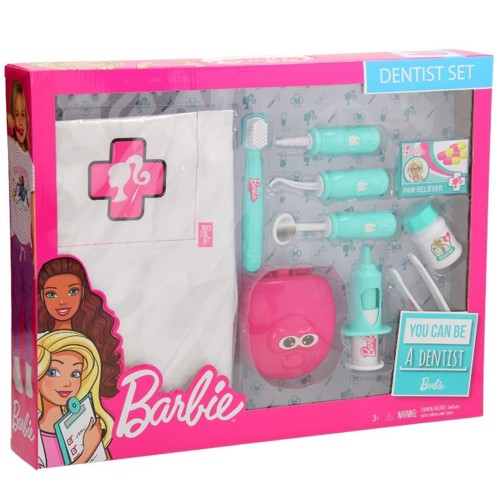 Image of Barbie tandlæge sæt