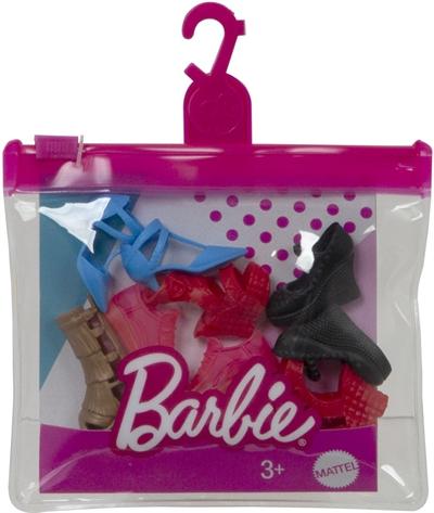 Image of Barbie sko pakke, Assorteret. (0887961935929)