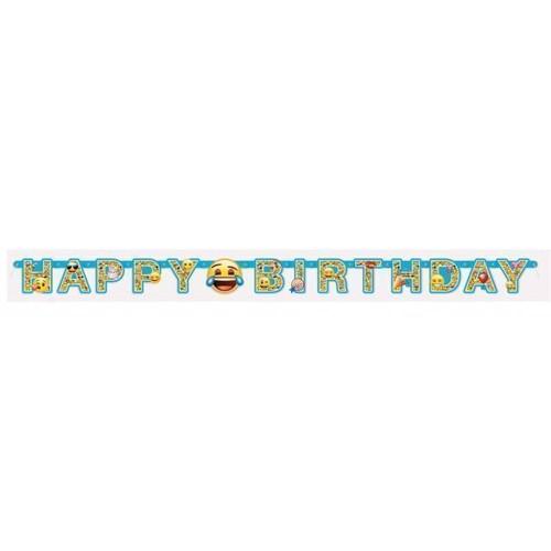Image of Banner Emoji, Happt birthday