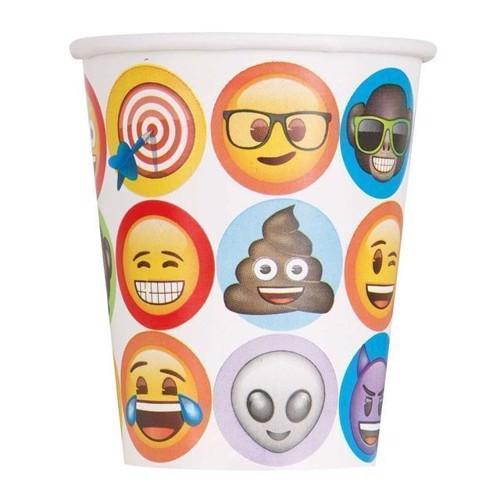 Image of Engangskrus Emoji, 8 stk