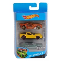 Hot Wheels Biler, 3 pak