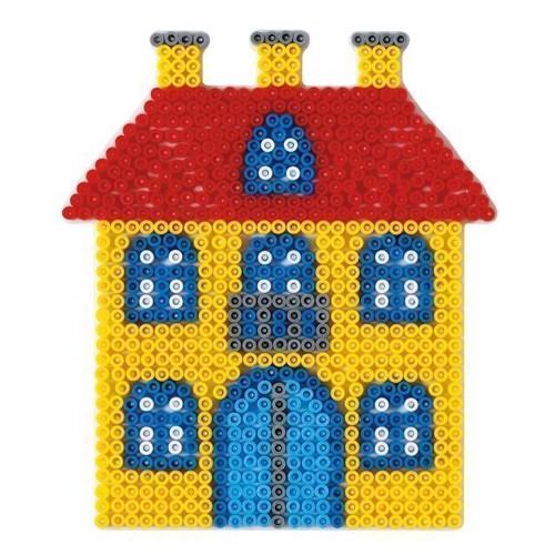 Image of Hama perleplade, hus (0028178003067)