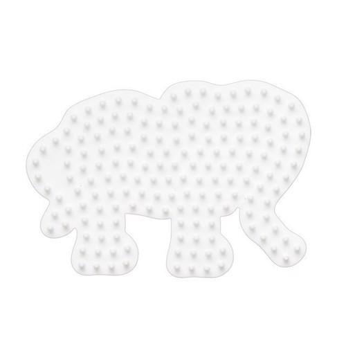Image of Hama perleplade, elefant lille (0028178003197)
