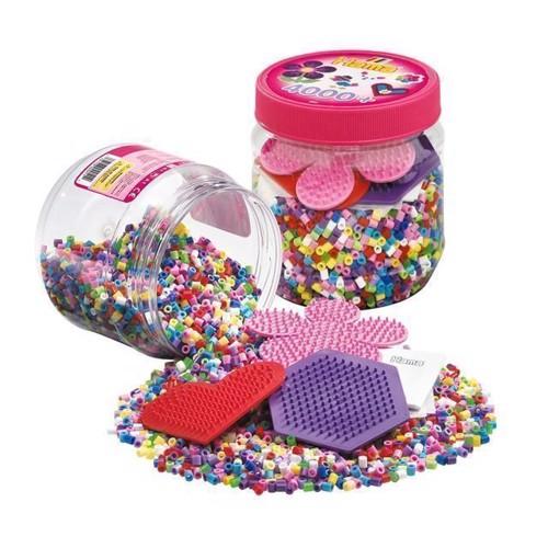 Image of   Hama perler med perleplader, 4000 stk