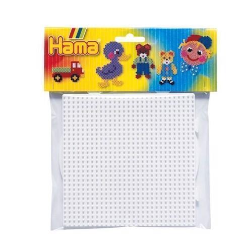 Image of   Hama perleplader, rund og firkant, stor