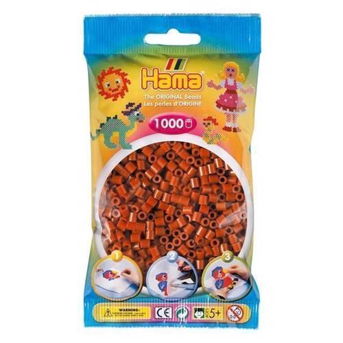 Image of   Hama perler brun (020), 1000 stk