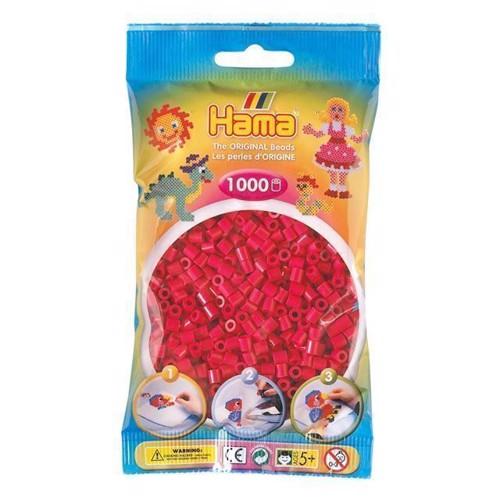 Image of   Hama perler varm rød (029), 1000 stk