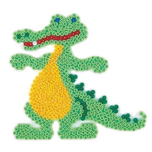 Image of Hama perleplade, krokodille (0028178259068)