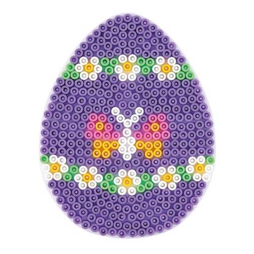 Image of   Hama perleplade, æg