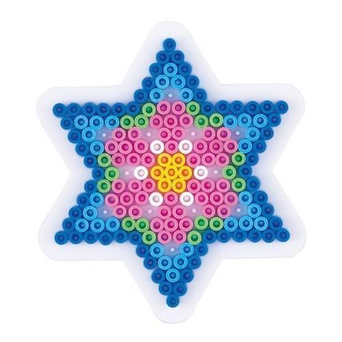 Image of   Hama perleplade, stjerne