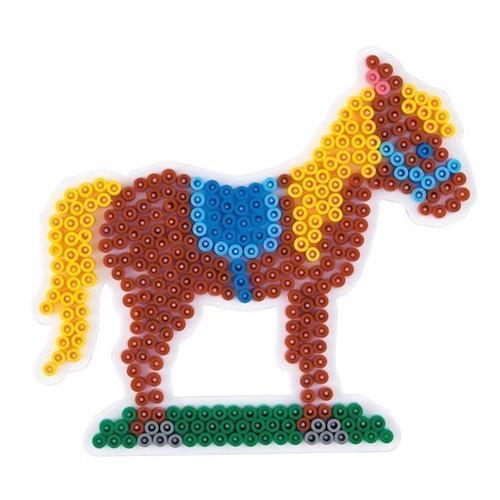 Image of Hama perleplade, hest (0028178281892)