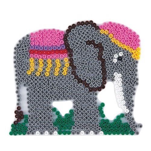 Image of Hama perleplade, elefant (0028178291006)