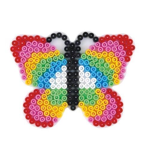 Image of   Hama perleplade, sommerfugl