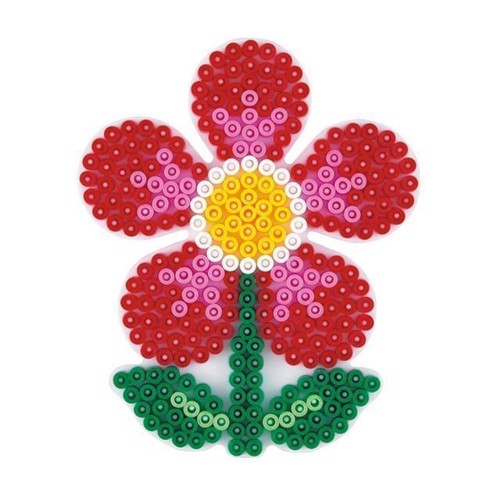 Image of Hama perleplade, blomst (0028178299033)
