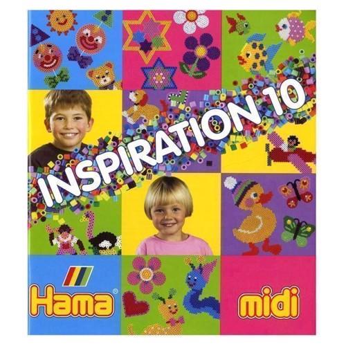 Image of Hama inspirations bog, nr. 10 (0028178399108)