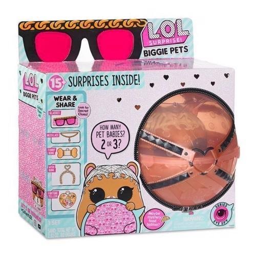 Image of LOL Surprise Biggie Pet, kæledyr Hamster (0035051552253)
