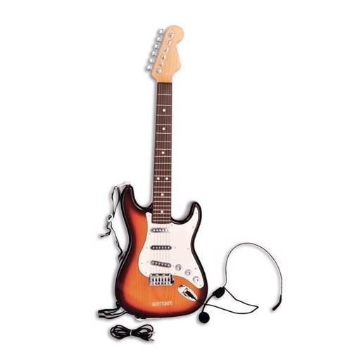 Image of   Elektrisk Guitar med mikrofon, Bontempi
