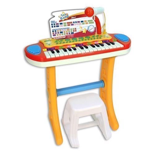 Image of   Bontempi Keyboard med mikrofon og skammel