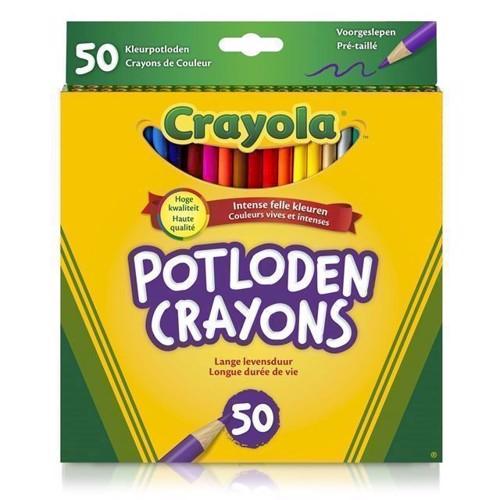 Image of   Crayola farveblyanter 50 stk