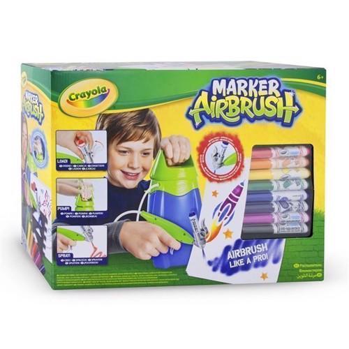 Image of   Crayola Marker Airbrush, puste tush maskine