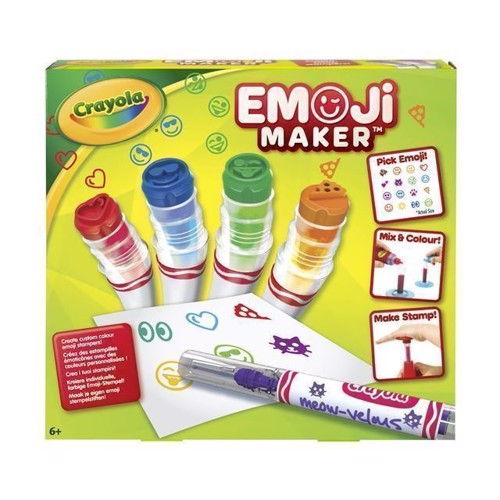Image of   Crayola Emoji Maker, stempel sjov