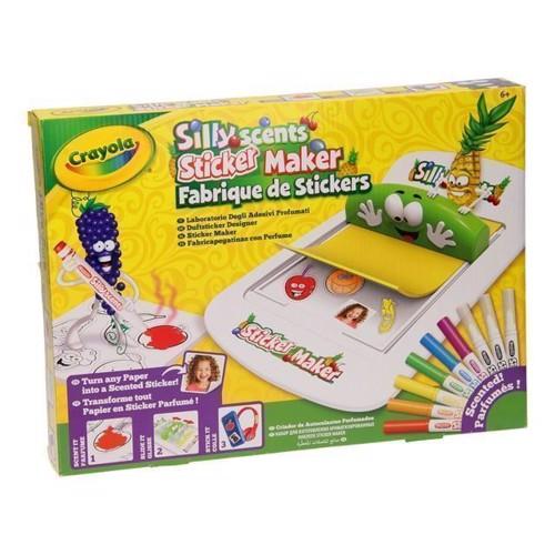 Image of   Crayola lav klistermærker