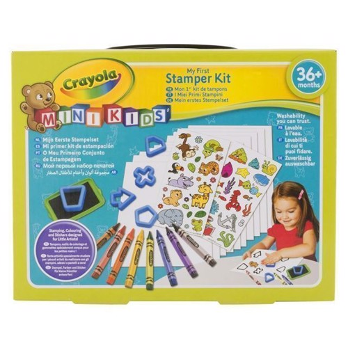 Image of Crayola Mini Kids, stempelsæt (0071662113599)