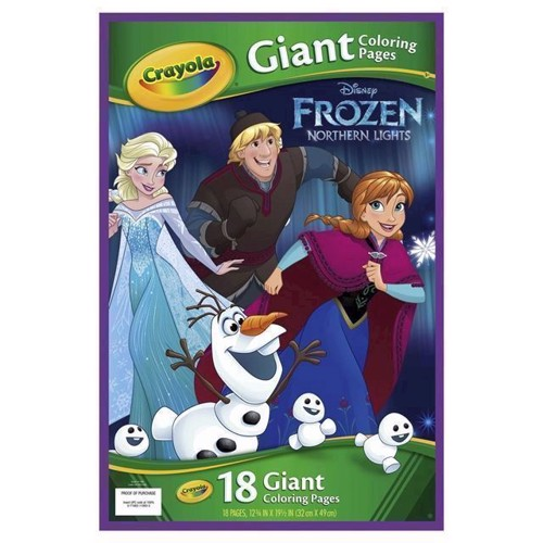 Image of Crayola store male sider med Disney Frozen (0071662119935)