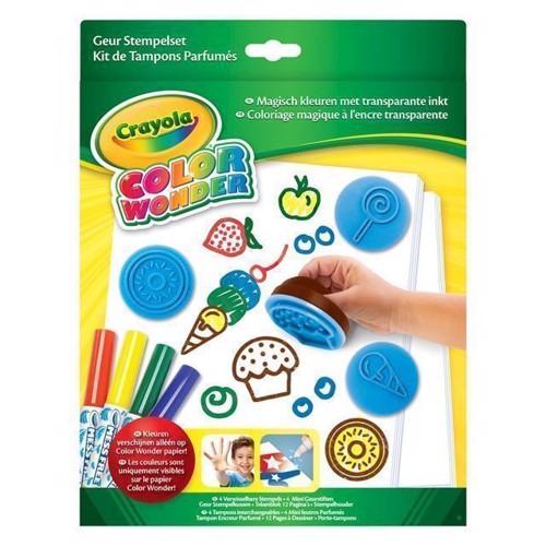 Image of Crayola Color Wonder - Stempel sæt med duft