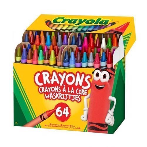 Image of Crayola voks kridt, 64 stk