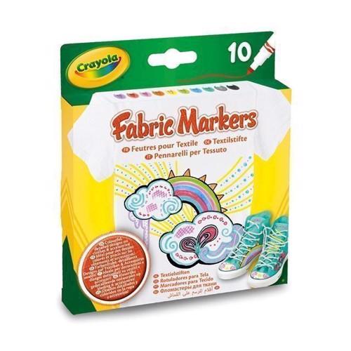 Image of   Crayola tekstil tusser 10 stk