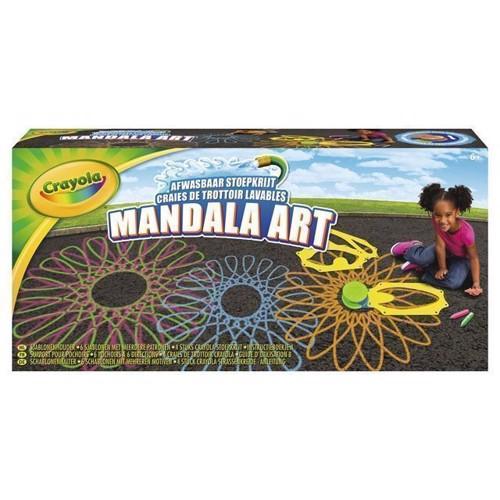 Image of   Crayola,udendørs mandela sæt med kridt