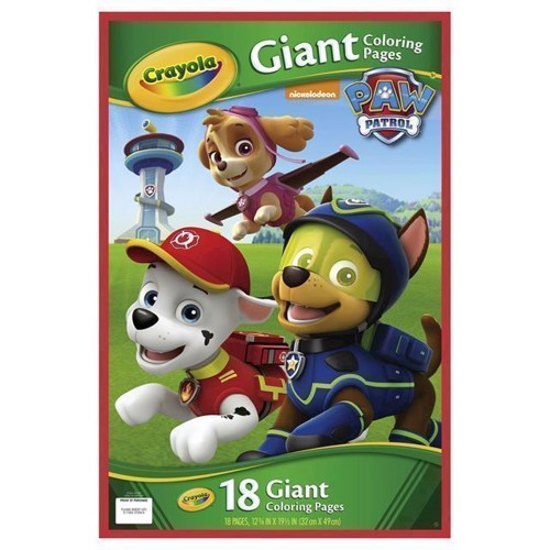 Image of   Crayola store male sider med Paw Patrol