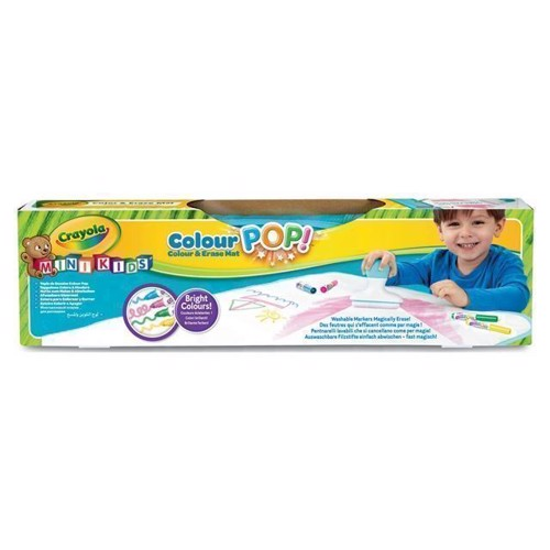 Image of Crayola Mini Kids,Color Pop, tegne måtte (0071662420062)