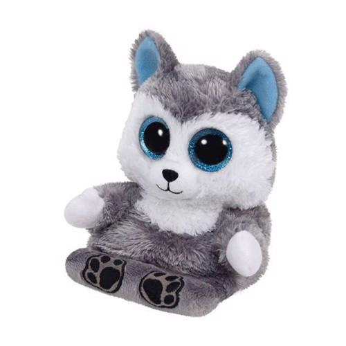 Image of   Ty bamse Peek a Boo, Husky telefonholer Scout, 15 cm
