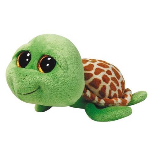 Image of   Ty Beanie Boo bamse, skildpadden Sandy, 15 cm