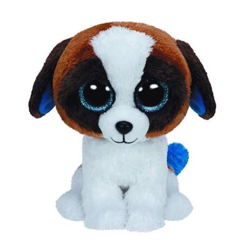 Image of   Ty Beanie Boo bamse, hunden Duke, 15 cm