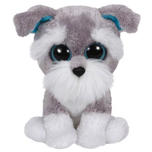 Image of   Ty Beanie Boo bamse, hunden Whiskers, 15 cm