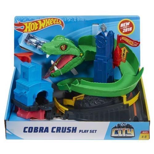 Image of Hot Wheels City Cobra crush bilbane (00887961585919)