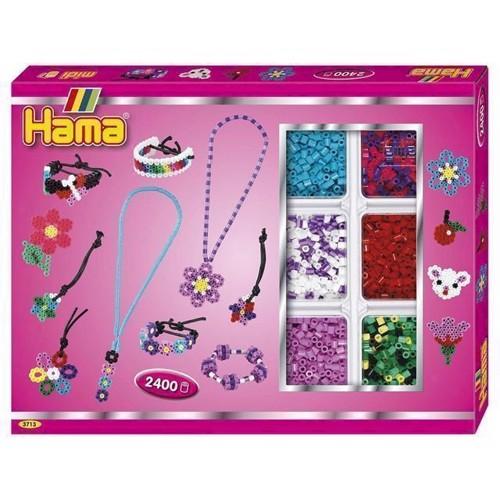 Image of   Hama perlesæt smykker, 2400 stk