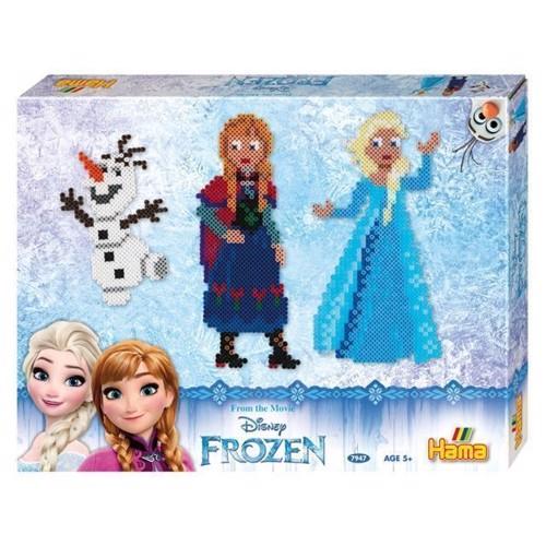 Image of Hama perlesæt Disney Frozen, 4000 stk (028178079475)