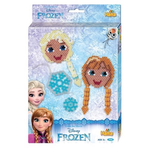 Image of Hama perlesæt Disney Frozen, 2000 stk (028178079581)