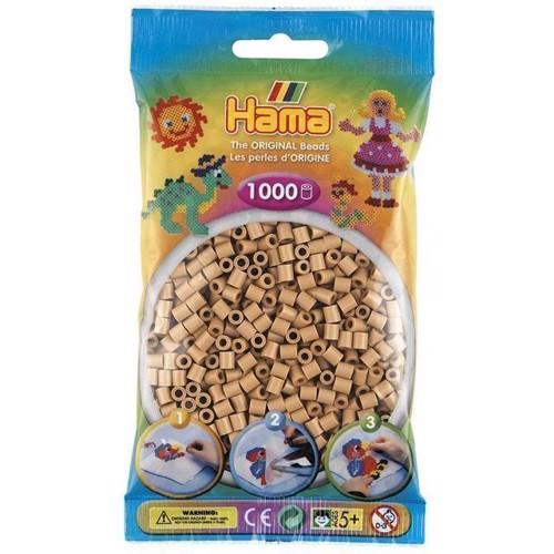 Image of Hama perler lys brun (207-75), 1000 stk