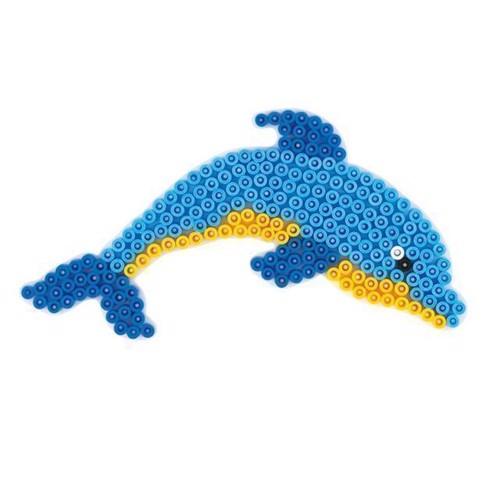 Image of Hama perleplade, delfin (028178300074)