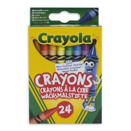 Image of   Crayola farvekridt 24 stk