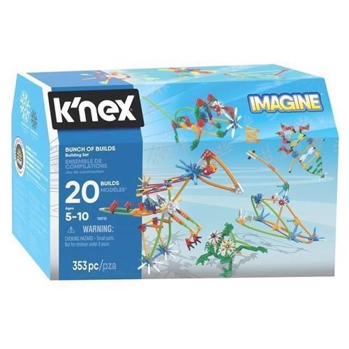 Image of Knex Bunch of Builds Byggesæt, 353 dele (0744476188182)