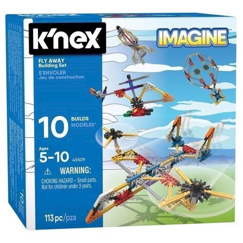 Image of KNex Byggesæt, flyvemaskiner 113 dele (0744476455093)