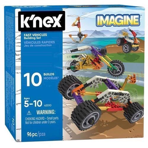 Image of Knex byggesæt, hurtige køretøjer, 96 dele (0744476455109)