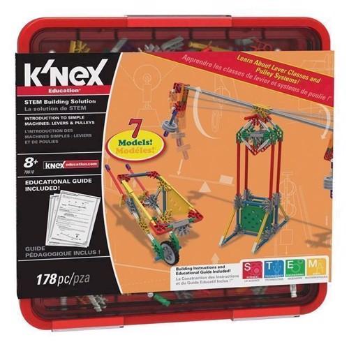 Image of KNex byggesæt, Intro til simple maskiner (0744476786104)